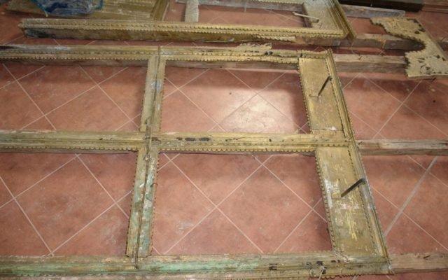 Детайл от иконостаса преди реставрация-4