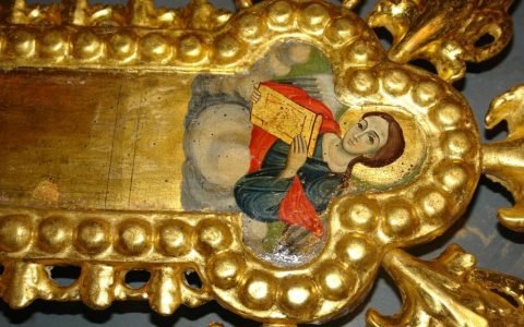 Детайл от кръста след реставрация-4