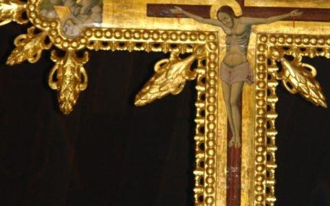 Детайл от кръста след реставрация-7