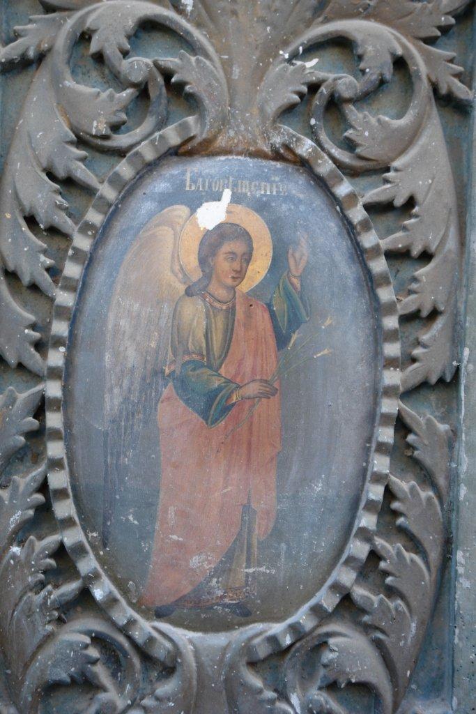 Детайл от царските двери преди реставрация-2