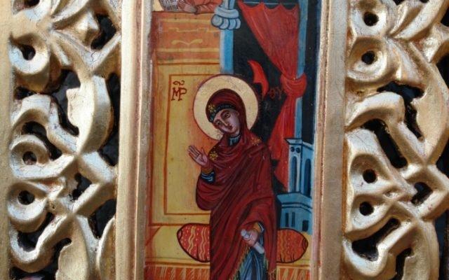 Детайл от царските двери след реставрация-4