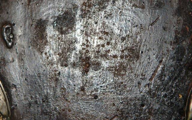 Детайл преди реставрация - содово осветление