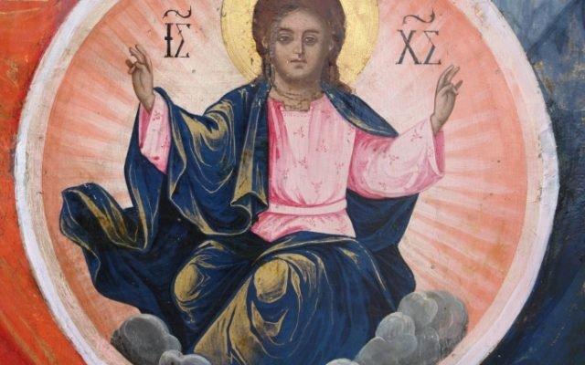 Иконата Архангелски сбор - детайл след реставрация-4