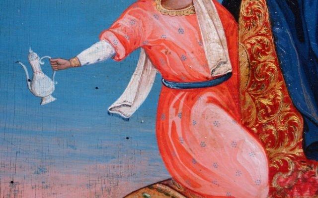 Иконата Св. Георги - детайл след реставрация-2