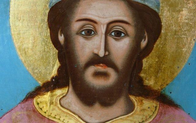 Иконата Св. Моисей - детайл след реставрация