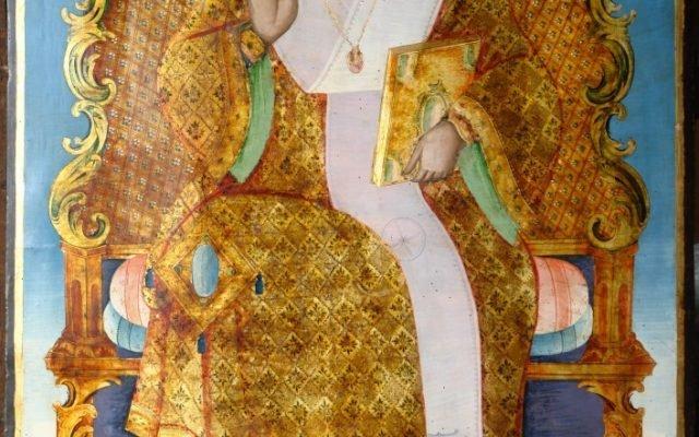 Иконата Св. Николай след реставрация