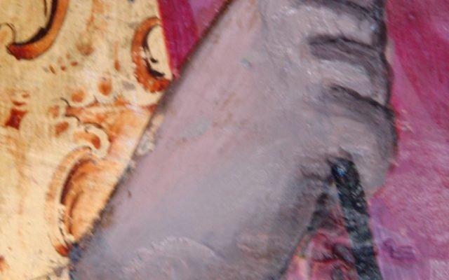 Иконата Св. Теодор Тирон - детайл след реставрация-2