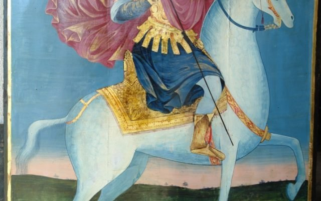 Иконата Св. Теодор Тирон - след реставрация