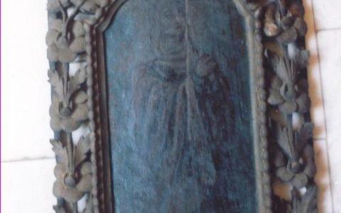Китрата на иконостаса преди реставрация
