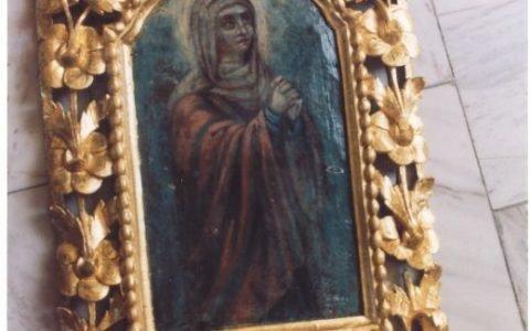 Китрата на иконостаса след реставрация