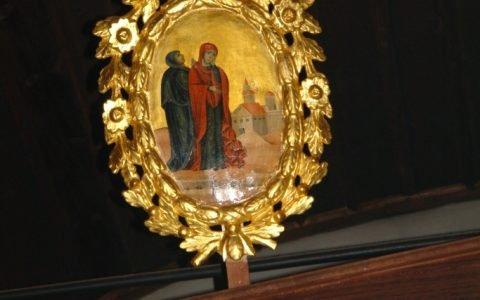Китра от иконостаса в храм Св. Георги -Созопол след реставрация-3