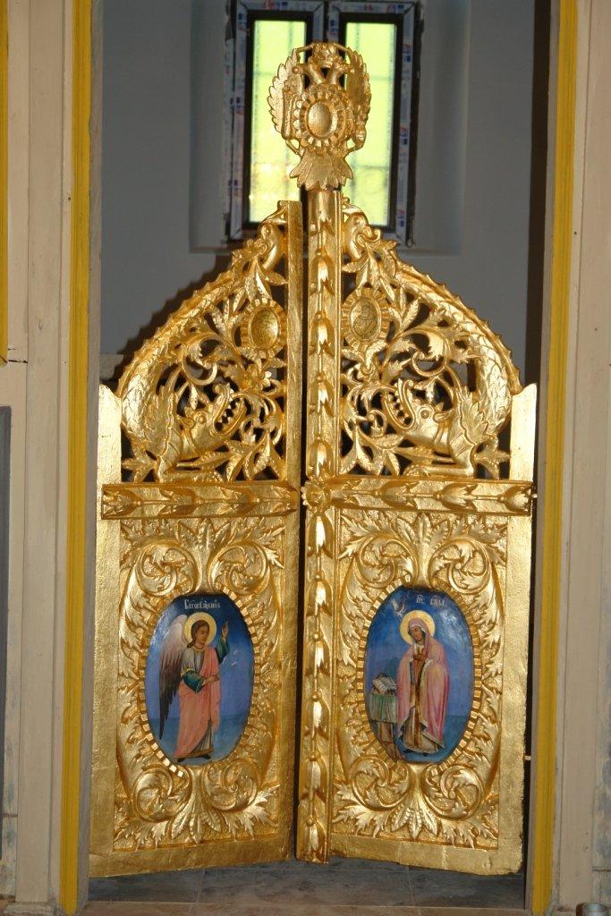 Царските двери от храм Св.Теодор Стратилат след реставрация