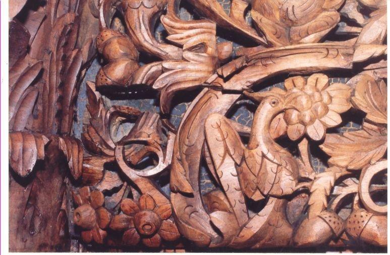 Детайл от иконостаса след реставрация-4