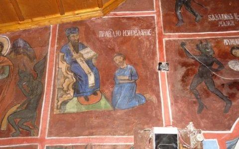 Детайл от западната стена след реставрация-2