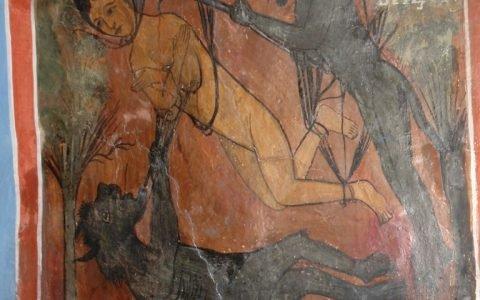 Детайл от западната стена след реставрация-4