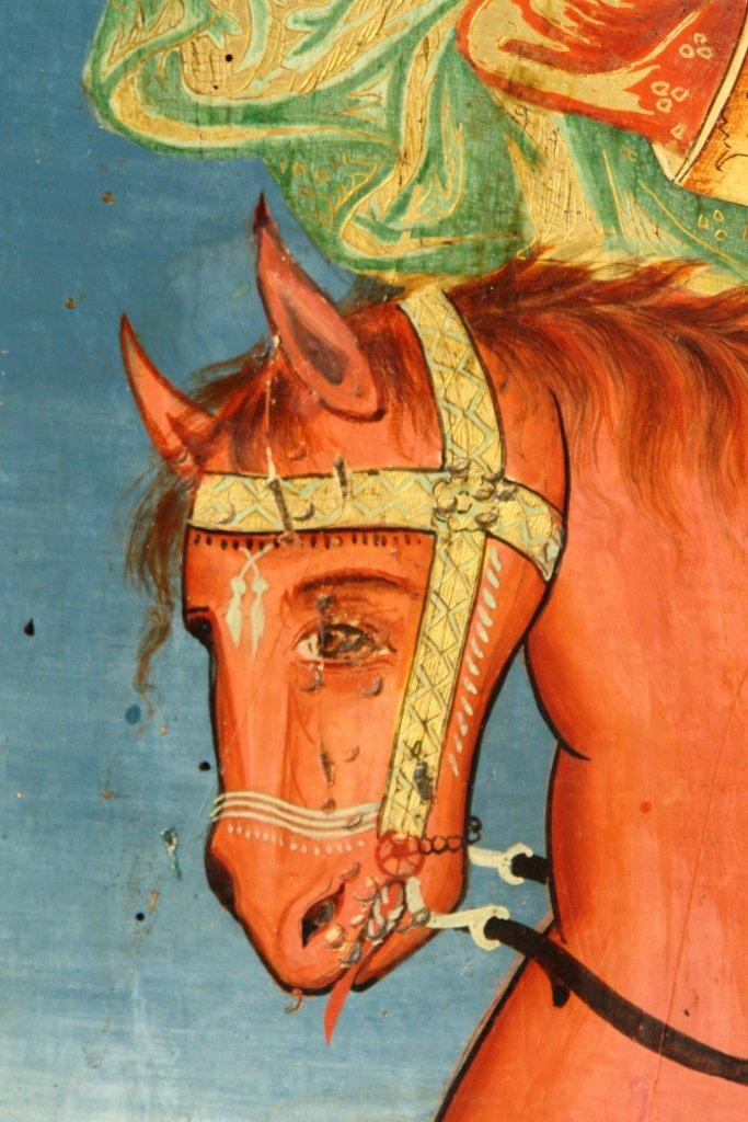 Детайл от иконата след реставрация
