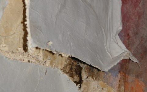 Детайл - сваляне на стенопис-2