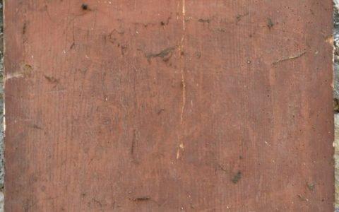 Иконата Св.Георги - гръб преди реставрация