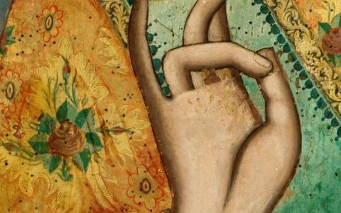 Иконата Св.Николай - детайл след реставрация-2