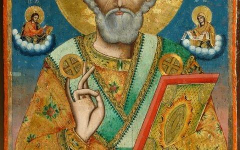 Иконата Св.Николай -след реставрация