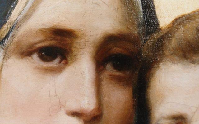 Иконата Св. Богородица - детайл след реставрация-2