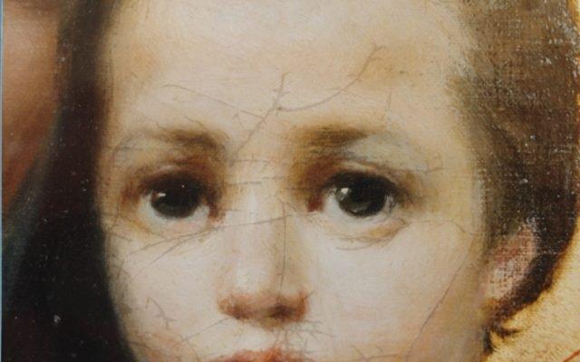 Иконата Св. Богородица - детайл след реставрация-3