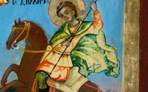 Иконата Св. Богородица детайл след реставрация-5