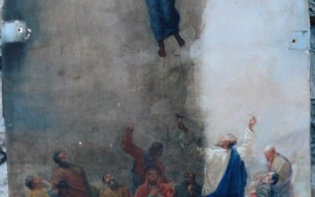 Иконата Св. Богородица - след реставрация