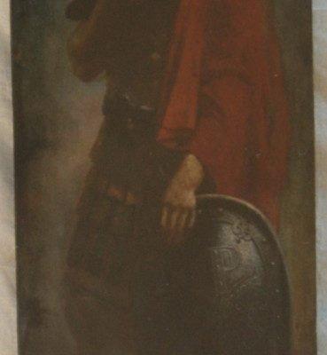 Иконата Св. Димитър - преди реставрация