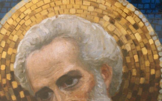 Иконата Св. Николай - детайл след реставрация