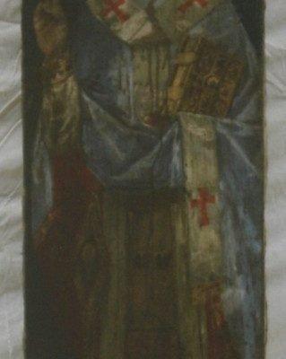 Иконата Св. Николай - преди реставрация