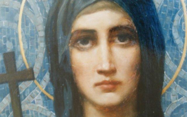 Иконата Св. Петка - детайл след реставрация