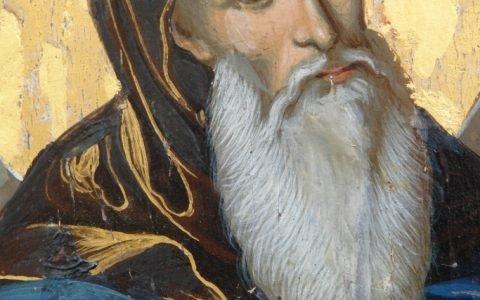 Иконата Св. Св. Кирил и Методий детайл след реставрация-2