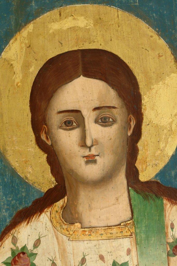 Иконата Св. Стефан - детайл след реставрация
