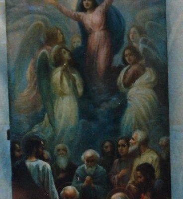 Иконата Успение на Пресвета Богородица - след реставрация