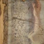 Картината Италианска циганка - автор Антон Митов - детайл преди реставрация-2