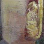 Картината Италианска циганка - автор Антон Митов - детайл след реставрация-3