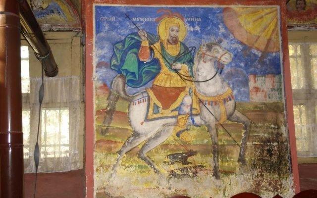 Св. Мина преди реставрация