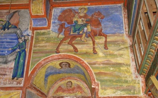 Св. Теодор Стратилат преди реставрация