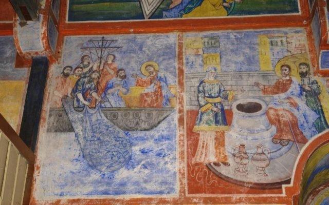 Северната стена в хр. Св. Харалампий преди реставрация-2