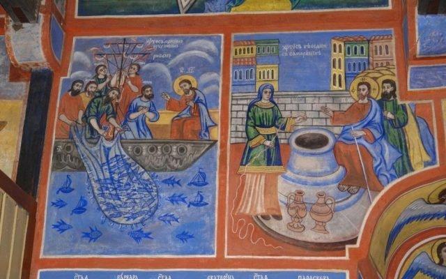 Северната стена в хр. Св. Харалампий след реставрация-2