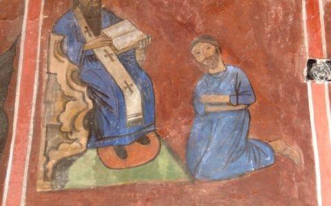 Сцената Праведно изповедание след реставрация