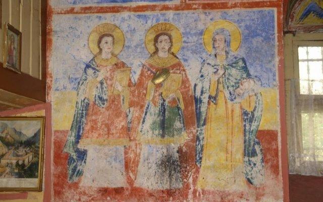 Три светици преди реставрация
