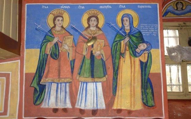 Три светици след реставрация