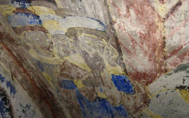 Цветоносие Христово детайл преди реставрация-2