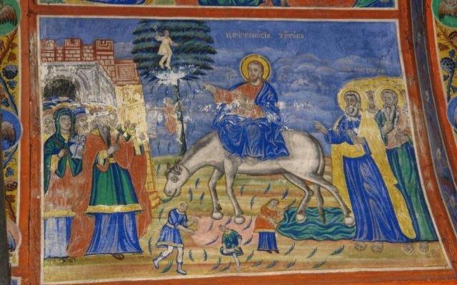 Цветоносие Христово преди реставрация