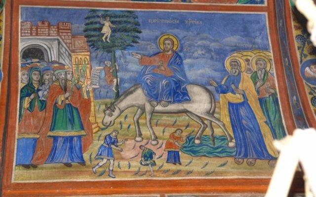 Цветоносие Христово след реставрация